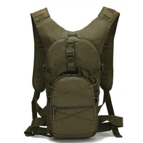 Рюкзак тактический велосипедный uni Tactic Bag B-10 оливковый 15л