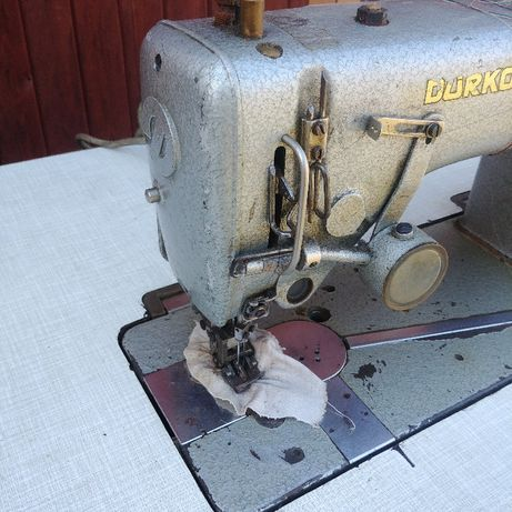 Durkopp - przemysłowa maszyna do szycia 2 igłowa