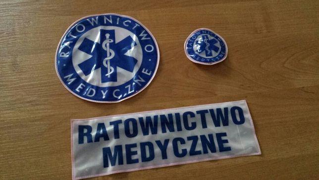 Emblemat, Znaczek, Naszywka, Eskulap, Ratownictwo Medyczne