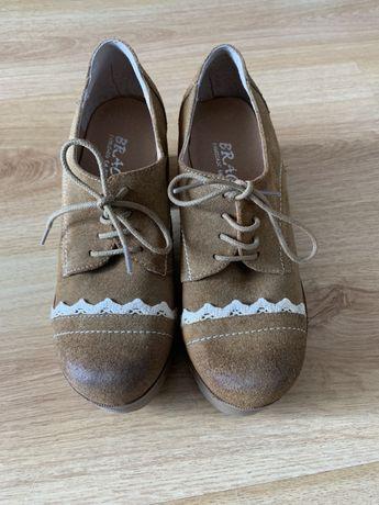 Sapatos de pele