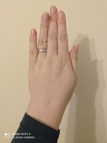 Obrączka Warmet pierścionek srebrny srebro
