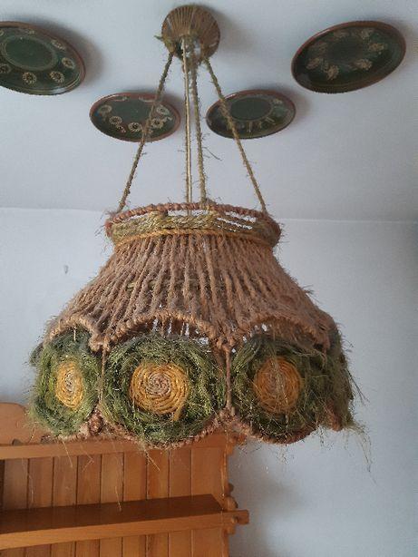 Lampa - styl góralski, styl ludowy