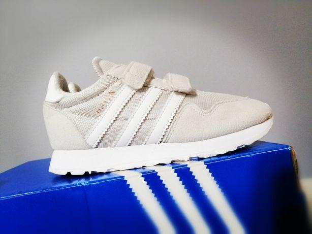 Adidas Haven r 27, 16cm sneakers beżowe boost buty
