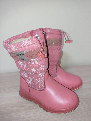 Сапожки зимові для дівчинки чобітки Том м