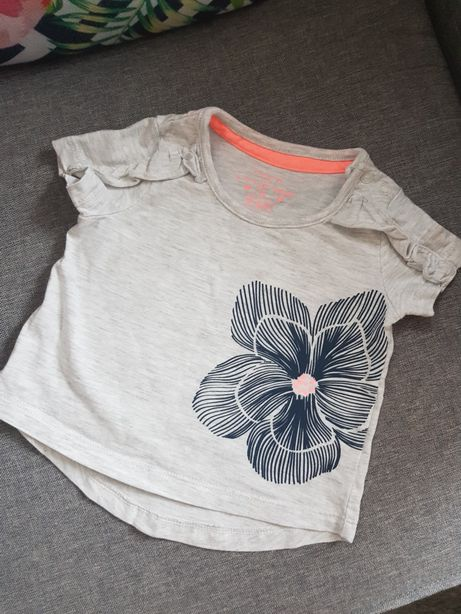 Nowa Koszulka bluzeczka z falbankami Zara 68