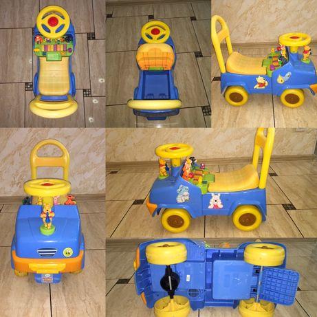 Детская музыкальная машинка толокар kiddieland disney винни - пух