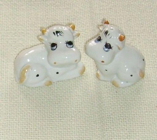 Porcelanowa solniczka i pieprzniczka