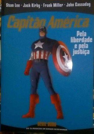 Comics Capitão América serie ouro