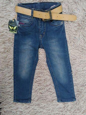 Стильные зауженные джинсы, для маленького модника, Турция