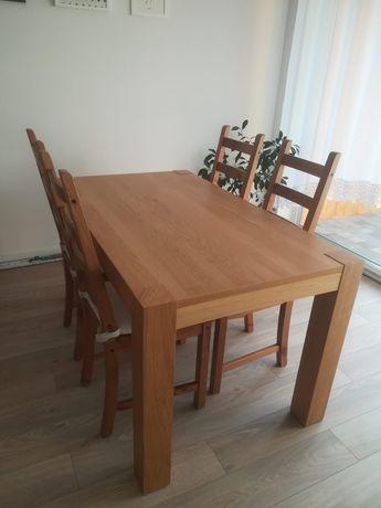 Stół i 4 krzesła Ikea
