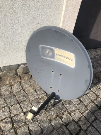 Antena z konwerterem