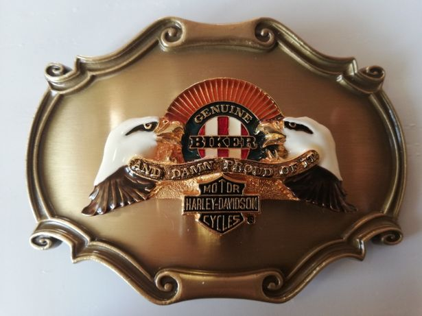 Klamra Harley Davidson, pasek Harley Davidson, Harley pasek