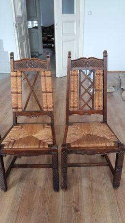 9 krzeseł typu vintage