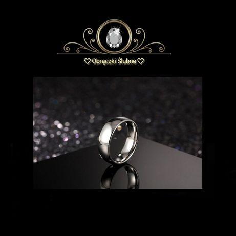 — Najszlachetniejszy Symbol Miłości — Srebrna Obrączka Ślubna