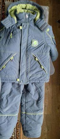 Куртка зимняя с комбинезоном (тройка по цене куртки)