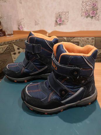 Зимние ботинки на мальчика bi&ki