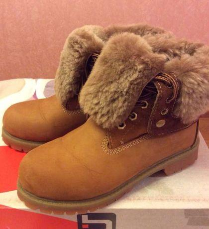 Ботинки зимние, натуральныеТимбирленд