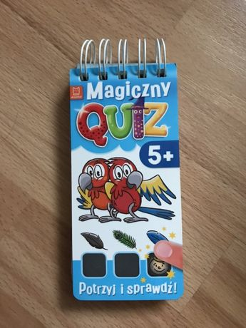 Magiczny quiz dla 5 latka