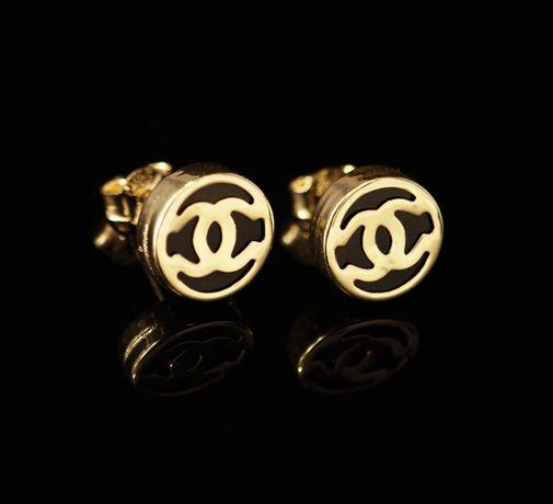 Złoto 585 - złote kolczyki CC