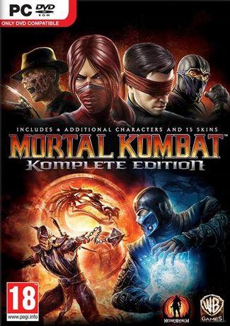 Mortal Kombat Komplete Edition Pc Folia + All Dlc
