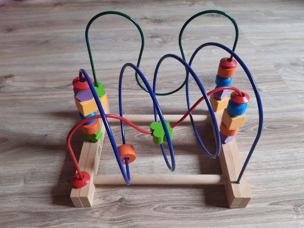 Zestaw zabawek. Sorter i stolik edukacyjny