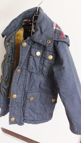 с подстежкой зимняя куртка ZARA kids размер 98 на 2-3 года