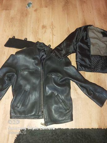 Kurtka skórzana progress leather