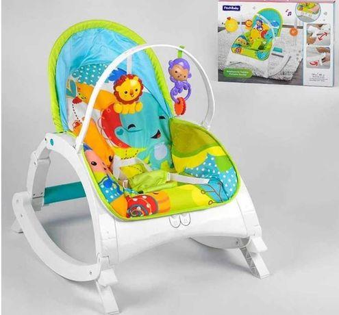 Шезлонг качалка крісло
