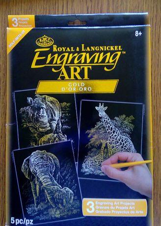 Scraping Royal Engraving - zestaw do wydrapywania.