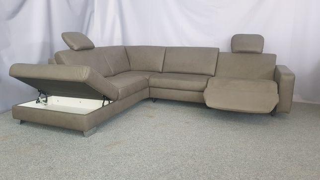 Кожаный диван. Реклайнер, Шкіряний диван Релакс