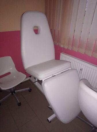 Fotel kosmetyczny, masaż.