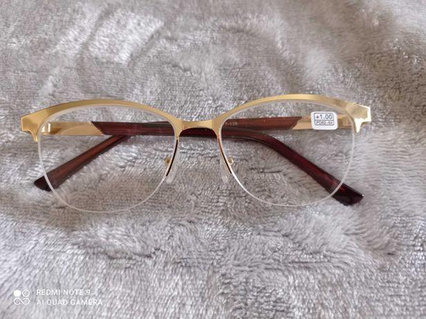 Металлическая оправа, готовые очки