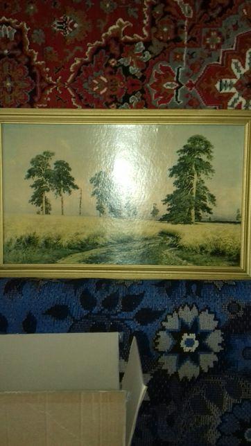 """Картина""""Рожь"""" Шишкина"""