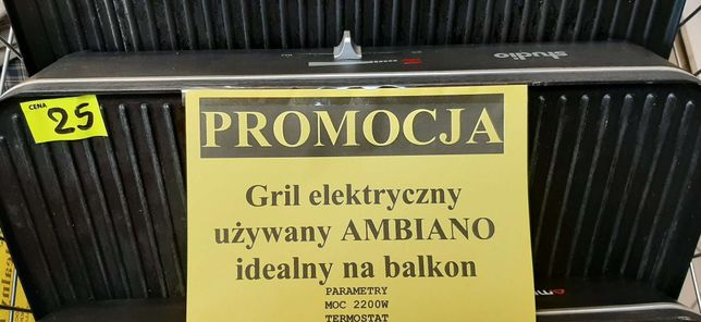 Grli elektryczny Ambiano - Lombard Madej gorlice -