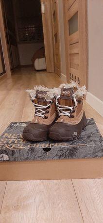 The North Face buty zimowe, wodoodporne 16.5 cm rozm.27 jak nowe
