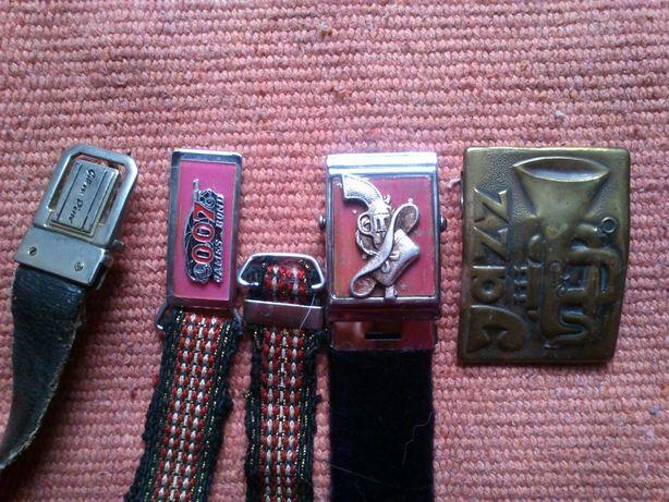 Винтажные пряжки с варио изображением