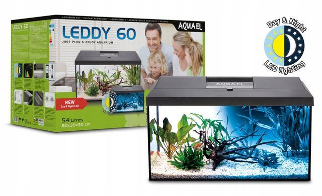 Zestaw Akwarium Aquael Leddy Day&Night 60 54L + Filtr