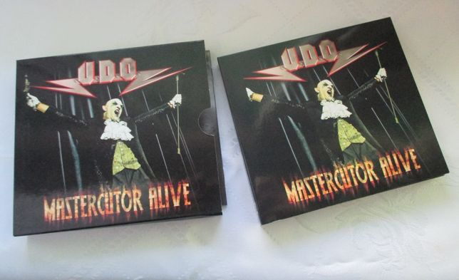 U.D.O - Mastercutor Alive 2CD +DVD wysyłka gratis
