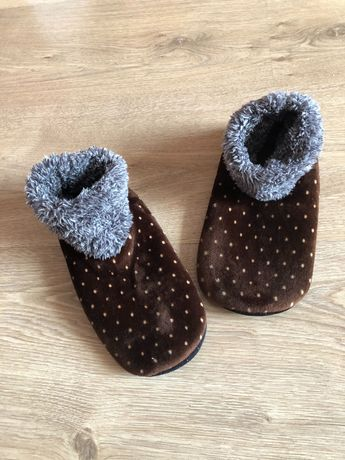 Новые мягенькие тапочки-носочки Primark длина подошвы 21,5