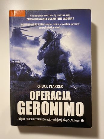 Chuck Pfarrer Operacja Geronimo