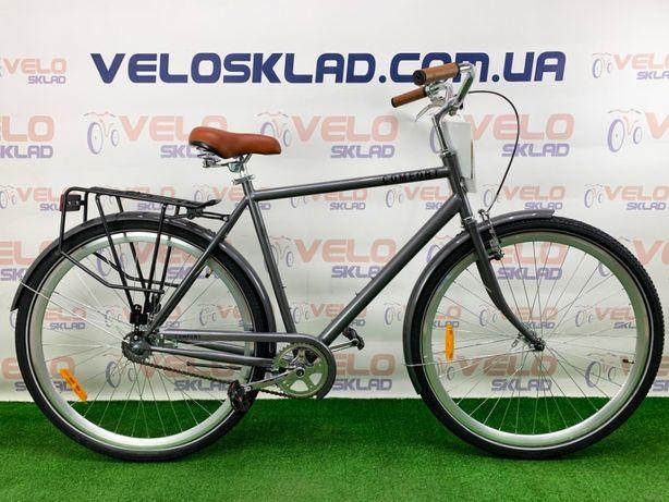 """Городской велосипед с прямой рамой DOROZHNIK COMFORT MALE 28"""" 175-195"""