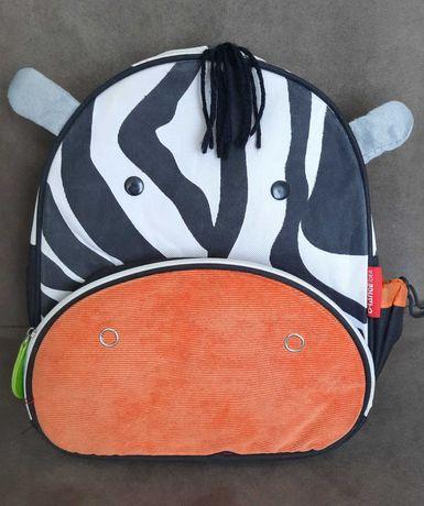Skip Hop Zoo Рюкзак Зебра. Дошкольный детский рюкзачок Оригинал