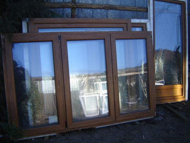 okna pcv kolor