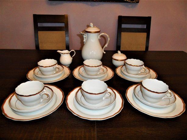 Miśnia serwis kawowy na 6 osób stan idealny.