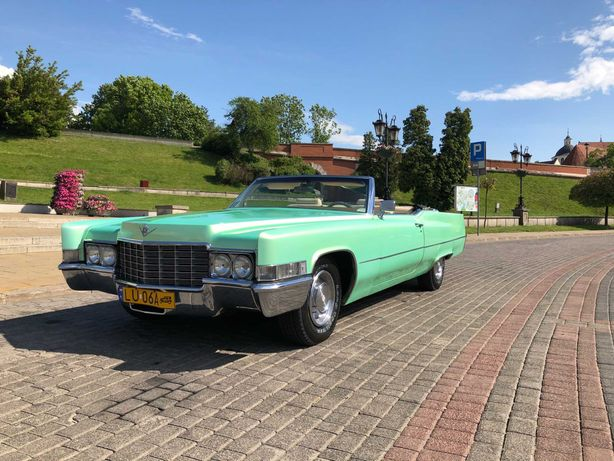 Wyjątkowy samochód do ślubu Cadillac DeVille Convertible / cabriolet
