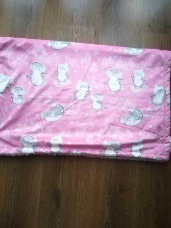 Kocyk dla noworodka dla dziewczynki