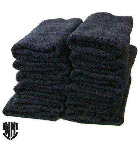 Toalhas para cabeleireiro pretas ou brancas