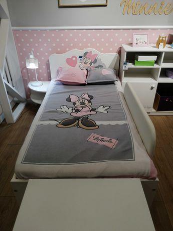 Łóżko 90x170 Meblik Minnie Mouse - zestaw, wyprzedaż salonu