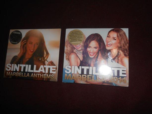 Dois CDs triplos-Sintillate Marbella/Novos e selados-3 euros cada