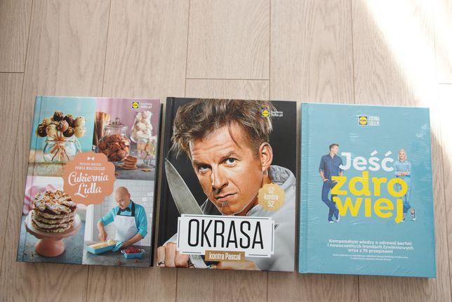 Książki kucharskie z Lidla nowe!